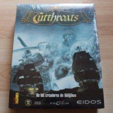 Videojuegos y Consolas: CUTTHROATS PC BOX CAJA CARTON PRECINTADO. Lote 96910071