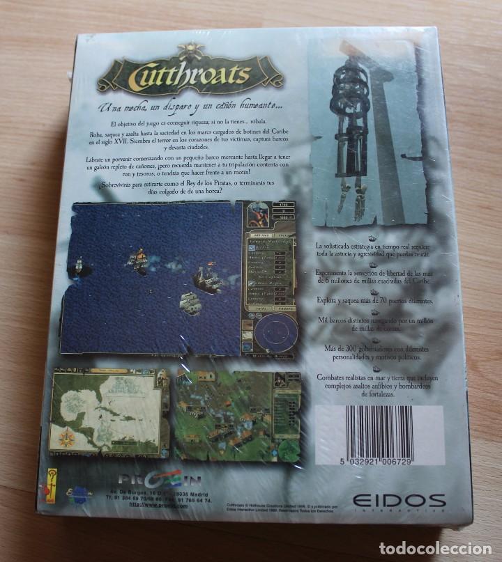Videojuegos y Consolas: CUTTHROATS PC BOX CAJA CARTON PRECINTADO - Foto 2 - 96910071