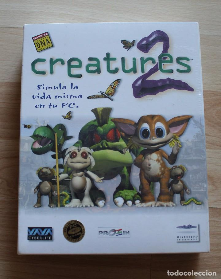 CREATURES 2 PC BOX CAJA CARTON NUEVO PRECINTADO (Juguetes - Videojuegos y Consolas - PC)
