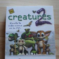 Videojuegos y Consolas: CREATURES 2 PC BOX CAJA CARTON NUEVO PRECINTADO. Lote 96924843