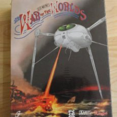 Videojuegos y Consolas: THE WAR OF THE WORLDS LA GUERRA DE LOS MUNDOS JEFF WAYNE'S PC BOX CAJA CARTON PRECINTADO. Lote 96941271