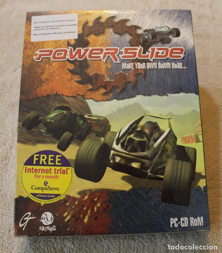 POWER SLIDE PC BOX CAJA CARTON PRECINTADO (Juguetes - Videojuegos y Consolas - PC)