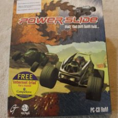 Videojuegos y Consolas: POWER SLIDE PC BOX CAJA CARTON PRECINTADO. Lote 103853756