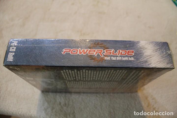 Videojuegos y Consolas: POWER SLIDE PC BOX CAJA CARTON PRECINTADO - Foto 4 - 103853756