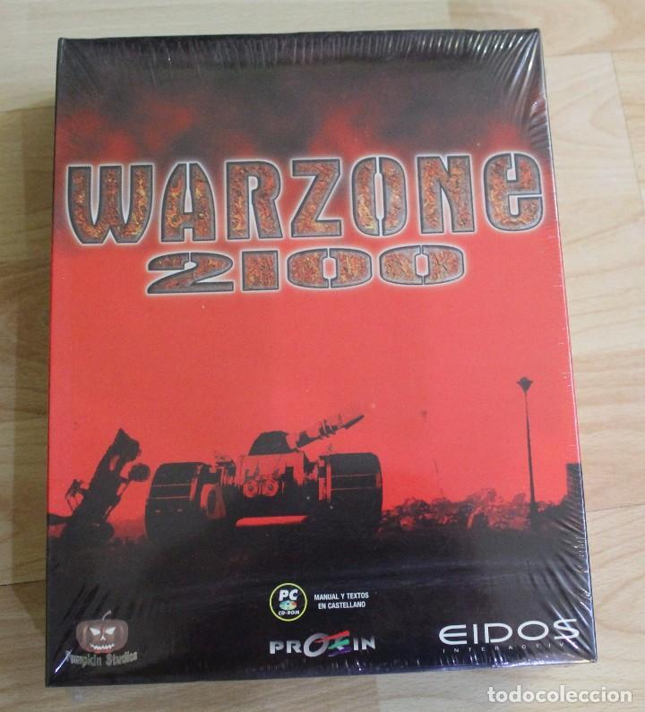 WARZONE 2100 PC BOX CAJA CARTON PRECINTADO (Juguetes - Videojuegos y Consolas - PC)