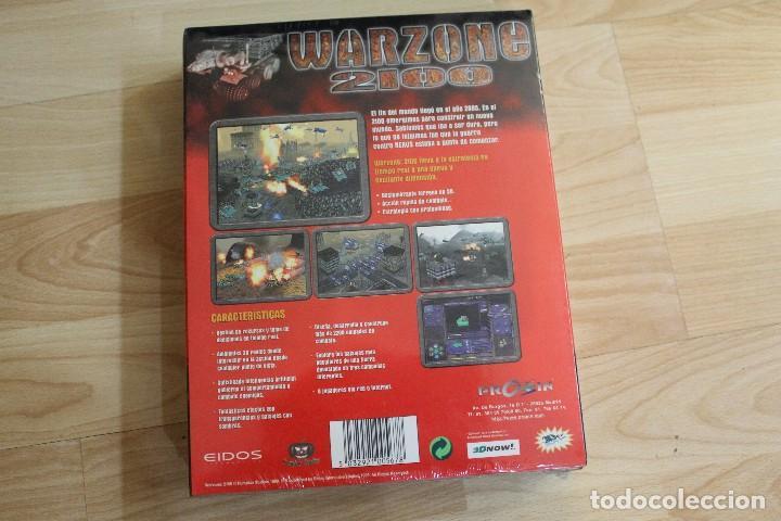 Videojuegos y Consolas: WARZONE 2100 PC BOX CAJA CARTON PRECINTADO - Foto 2 - 96941679