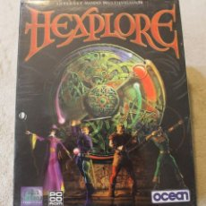 Videojuegos y Consolas: HEXPLORE PC BOX CAJA CARTON PRECINTADO. Lote 96942147