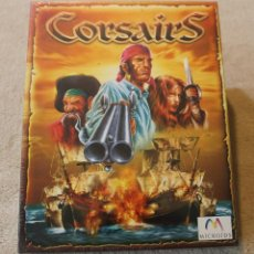 Videojuegos y Consolas: CORSAIRS PC BOX CAJA CARTON PRECINTADO. Lote 177281210