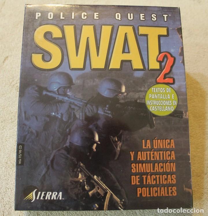 SWAT 2 POLICE QUEST PC BOX CAJA CARTON PRECINTADO (Juguetes - Videojuegos y Consolas - PC)