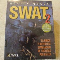 Videojuegos y Consolas: SWAT 2 POLICE QUEST PC BOX CAJA CARTON PRECINTADO. Lote 134295766