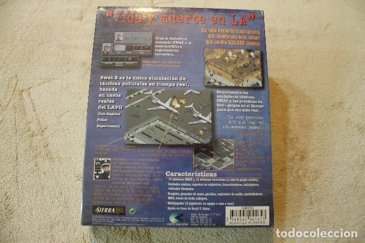 Videojuegos y Consolas: SWAT 2 POLICE QUEST PC BOX CAJA CARTON PRECINTADO - Foto 2 - 134295766
