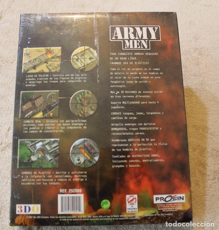 Videojuegos y Consolas: ARMY MEN PC BOX CAJA CARTON PRECINTADO - Foto 2 - 96947979