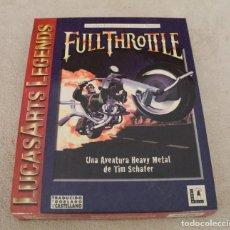 Videojuegos y Consolas: FULL THROTTLE FULLTHROTTLE PC BOX CAJA CARTON. Lote 96951391