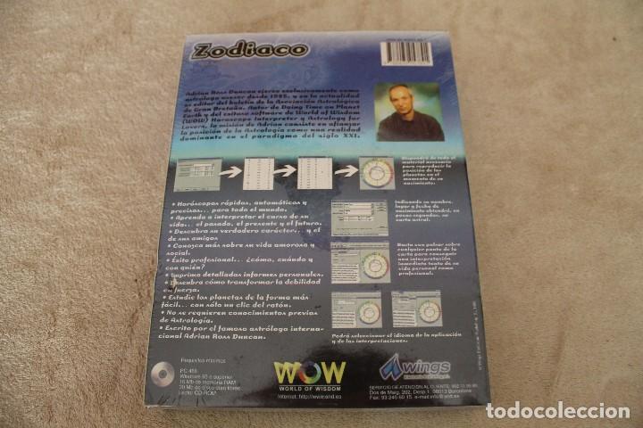 Videojuegos y Consolas: ZODIACO EL HOROSCOPO INTERACTIVO ADRIAN ROSS DUNCAN PC BOX CAJA CARTON PRECINTADO - Foto 2 - 96951739