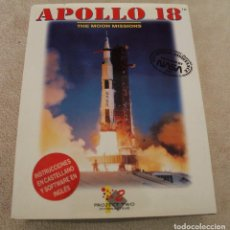 Videojuegos y Consolas: APOLLO 18 THE MOON MISSIONS PC BOX CAJA CARTON. Lote 96955263