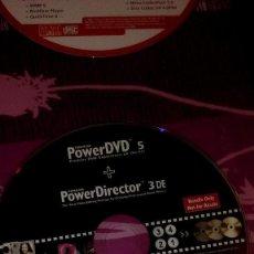 Videojuegos y Consolas: BAL-3 SIN CARATULA SOLO CD POWERDVD 5 POWER DIRECTOR 3 DE CLUB . Lote 97085927