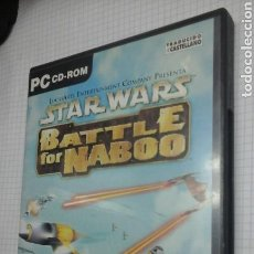Videojuegos y Consolas: STAR WARS.BATTLE FOR NABOO.ESPAÑOL. Lote 97121079