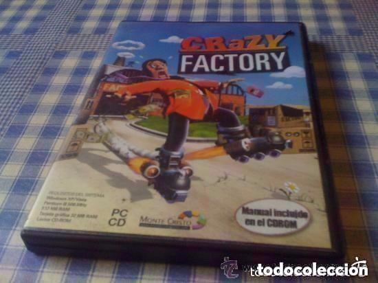 CRAZY FACTORY JUEGO PARA PC CD DVD ORDENADOR VERSIÓN ESPAÑOLA GOLD EDTION (Juguetes - Videojuegos y Consolas - PC)