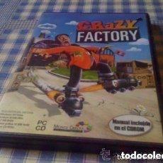 Videojuegos y Consolas: CRAZY FACTORY JUEGO PARA PC CD DVD ORDENADOR VERSIÓN ESPAÑOLA GOLD EDTION. Lote 97957247