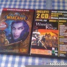 Videojuegos y Consolas: 3 DISCOS PRUEBA DE WORLD OF WARCRAFT + WARRIOR KINGS PARA PC CD DVD ORDENADOR VERSIÓN ESPAÑOLA. Lote 97957255
