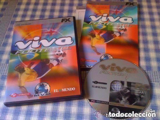 VIVA FOOTBALL EDICIÓN MUNDIALES JUEGO PARA PC WINDOWS COMPLETO VERSIÓN ESPAÑOLA FX EXCELENTE (Juguetes - Videojuegos y Consolas - PC)