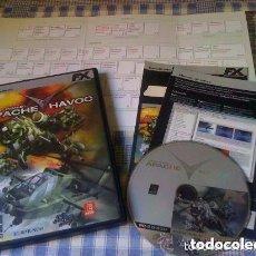 Videojuegos y Consolas: ENEMY ENGAGED APACHE VS. HAVOC JUEGO PARA PC WINDOWS COMPLETO VERSIÓN ESPAÑOLA FX + GUÍA DEL TECLADO. Lote 130297919