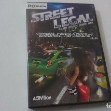 Videojuegos y Consolas: STREET LEGAL - CARRERAS Y APUESTAS. Lote 98447099