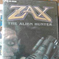 Videojuegos y Consolas: ZAX THE ALIEN HUNTER PC. Lote 98471758