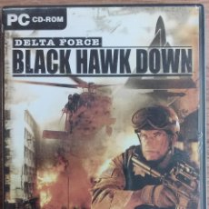 Videojuegos y Consolas: JUEGO PC DELTA FORCE BLACK HAWK DOWN ( EN CASTELLANO ). Lote 98476511