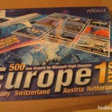 Videojuegos y Consolas: SIMULADOR VUELO EUROPE 1 PRO PC BOX CAJA CARTON PRECINTADA. Lote 98654495