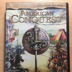 Videojuegos y Consolas: PC JUEGO - AMERICAN CONQUEST . Lote 98676339
