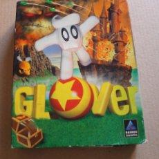 Videojuegos y Consolas: GLOVER PC BOX CAJA CARTON. Lote 98681763