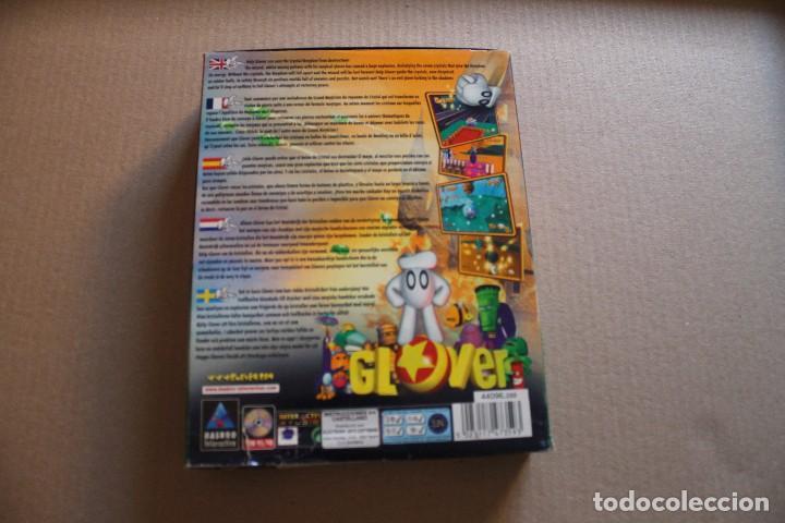 Videojuegos y Consolas: GLOVER PC BOX CAJA CARTON - Foto 2 - 98681763