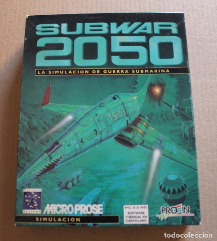 SUBWAR 2050 PC DISKETTES 3 1/2 BOX CAJA CARTON (Juguetes - Videojuegos y Consolas - PC)