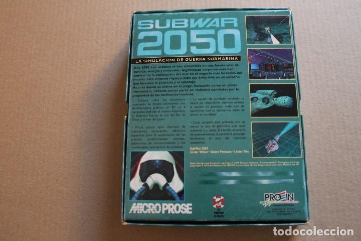 Videojuegos y Consolas: SUBWAR 2050 PC DISKETTES 3 1/2 BOX CAJA CARTON - Foto 2 - 98682495