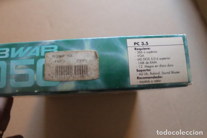 Videojuegos y Consolas: SUBWAR 2050 PC DISKETTES 3 1/2 BOX CAJA CARTON - Foto 3 - 98682495