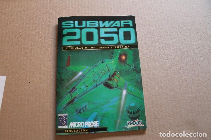 Videojuegos y Consolas: SUBWAR 2050 PC DISKETTES 3 1/2 BOX CAJA CARTON - Foto 7 - 98682495