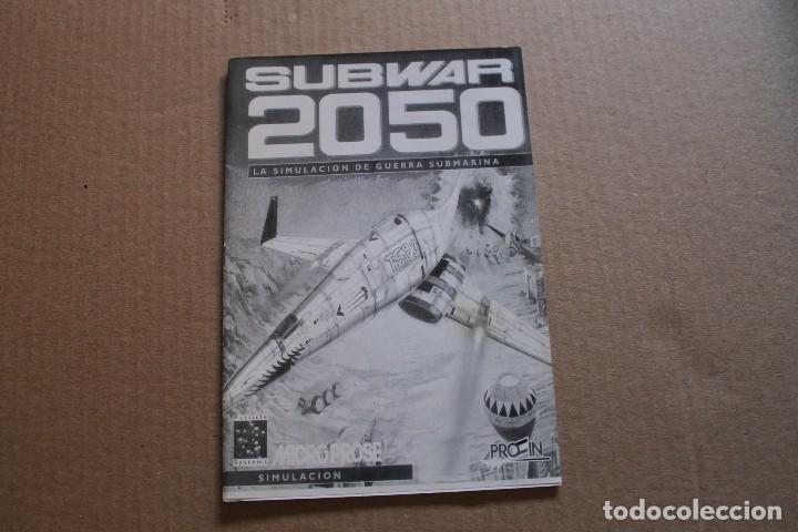 Videojuegos y Consolas: SUBWAR 2050 PC DISKETTES 3 1/2 BOX CAJA CARTON - Foto 8 - 98682495