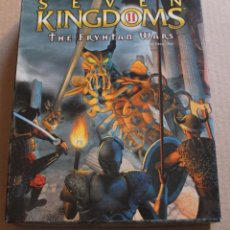 Videojuegos y Consolas: SEVEN KINGDOMS II THE FRYHTAN WARS PC BOX CAJA CARTON. Lote 98683211