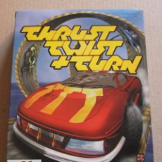 Videojuegos y Consolas: THRUST TWIST + TURN PC BOX CAJA CARTON. Lote 98683891