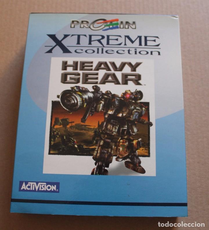 HEAVY GEAR PC BOX CAJA CARTON (Juguetes - Videojuegos y Consolas - PC)