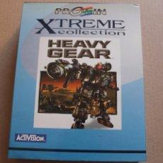 Videojuegos y Consolas: HEAVY GEAR PC BOX CAJA CARTON. Lote 98693627