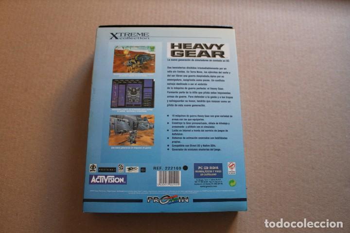 Videojuegos y Consolas: HEAVY GEAR PC BOX CAJA CARTON - Foto 2 - 98693627