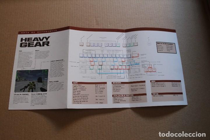 Videojuegos y Consolas: HEAVY GEAR PC BOX CAJA CARTON - Foto 7 - 98693627