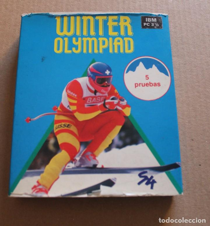 Videojuegos y Consolas: WINTER OLYMPIAD PC IBM DISKETTE 3 1/2 BOX CAJA CARTON - Foto 1 - 98694963