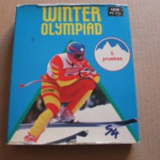 Videojuegos y Consolas: WINTER OLYMPIAD PC IBM DISKETTE 3 1/2 BOX CAJA CARTON. Lote 98694963