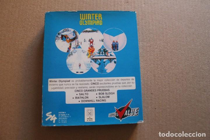 Videojuegos y Consolas: WINTER OLYMPIAD PC IBM DISKETTE 3 1/2 BOX CAJA CARTON - Foto 2 - 98694963