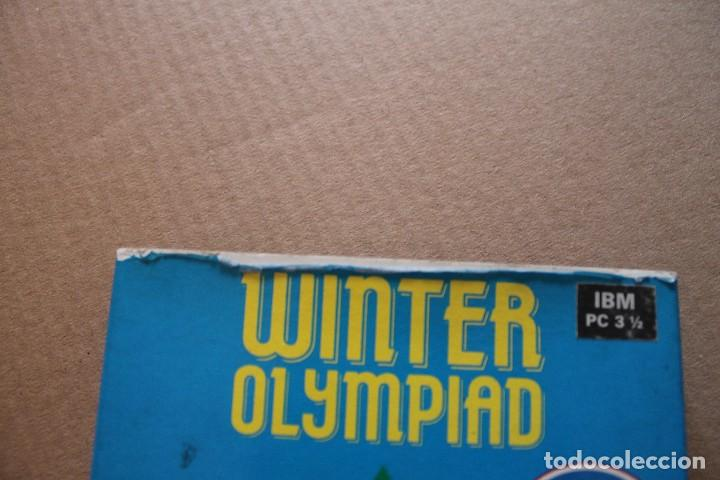 Videojuegos y Consolas: WINTER OLYMPIAD PC IBM DISKETTE 3 1/2 BOX CAJA CARTON - Foto 4 - 98694963