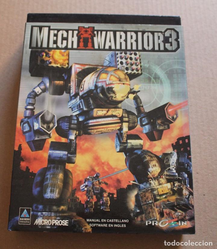 MECH WARRIOR 3 PC BOX CAJA CARTON (Juguetes - Videojuegos y Consolas - PC)