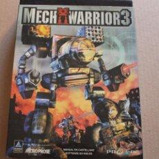 Videojuegos y Consolas: MECH WARRIOR 3 PC BOX CAJA CARTON. Lote 98695507